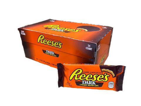 Reese's Peanut Butter Cups Dark Chocolate 1.4oz Bar or 24 Count