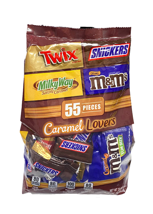 Mars Wrigley Snack Size Assorted Caramel Lovers Bag