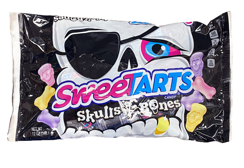 SweeTarts Skull and Bones Treat Size 12 oz Bag