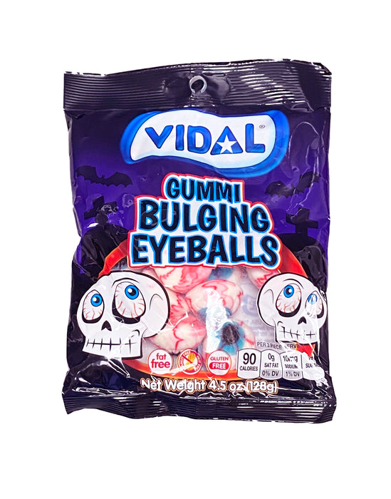 Gummi Bulging Eyeballs 4.5 oz Bag