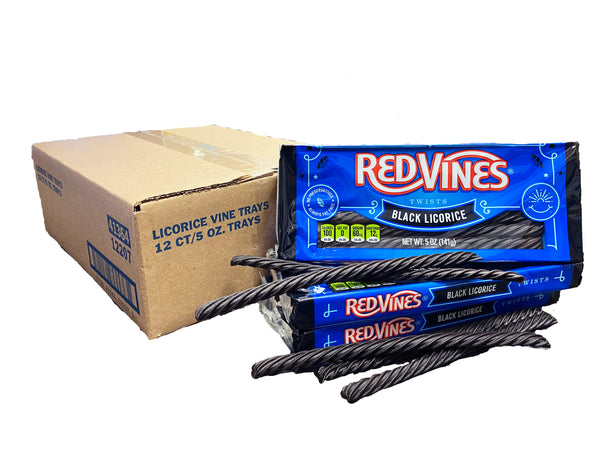 Licorice Vines Twists Tray Pack 5oz Flavor Variant 12ct Box