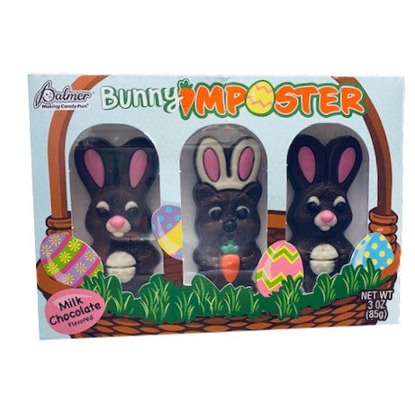 Easter Bunny Imposter Milk Chocolate Bunny 3oz