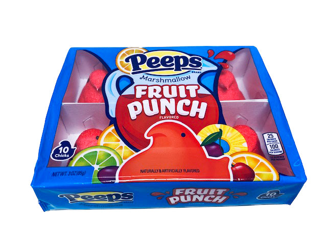 Peeps Fruit Punch 10 Count Tray 3oz
