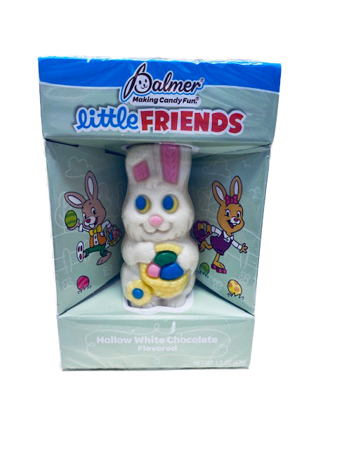 Easter Little Friends 1.5oz Hollow Bunny White Chocolate