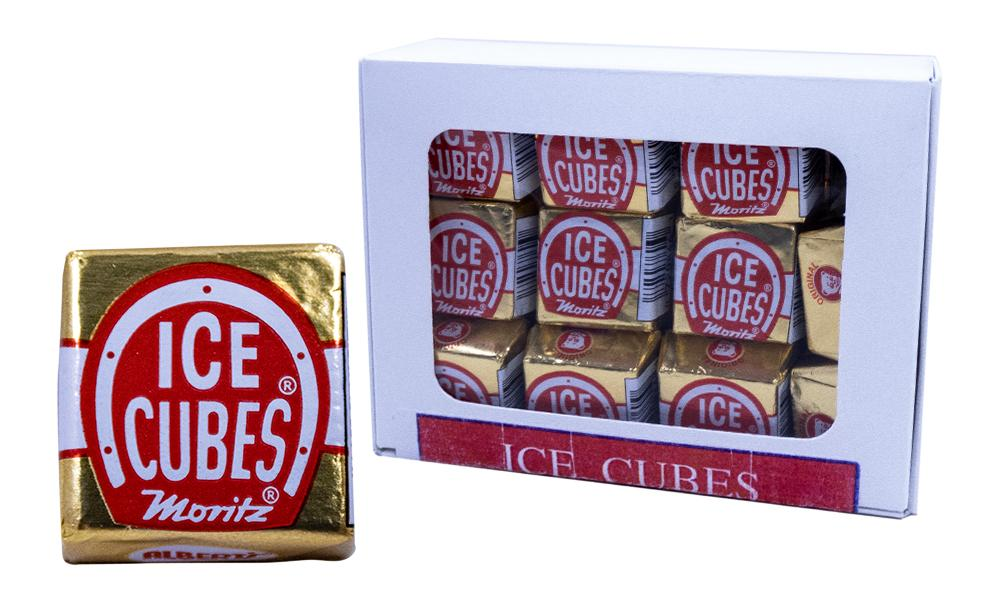 Ice Cubes Original 21 Count Box Milk Chocolate