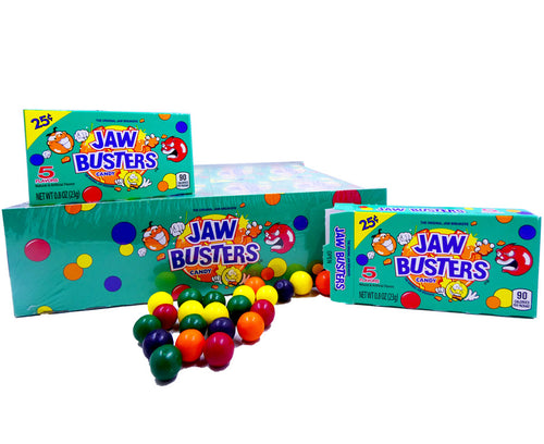 Jawbusters .8ox Box 24 Count Pack