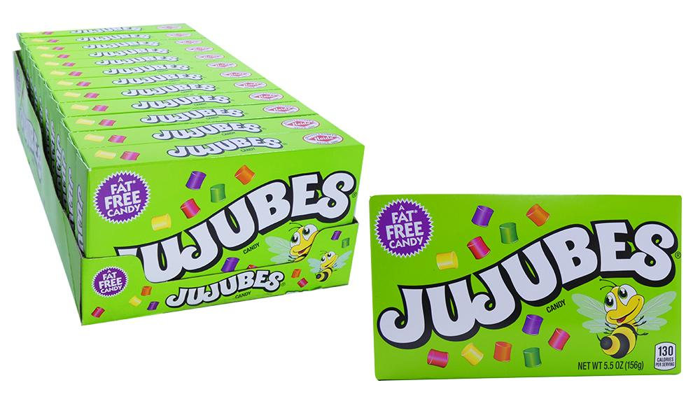 Jujubes 5.5oz Theater Box 12 Count Case