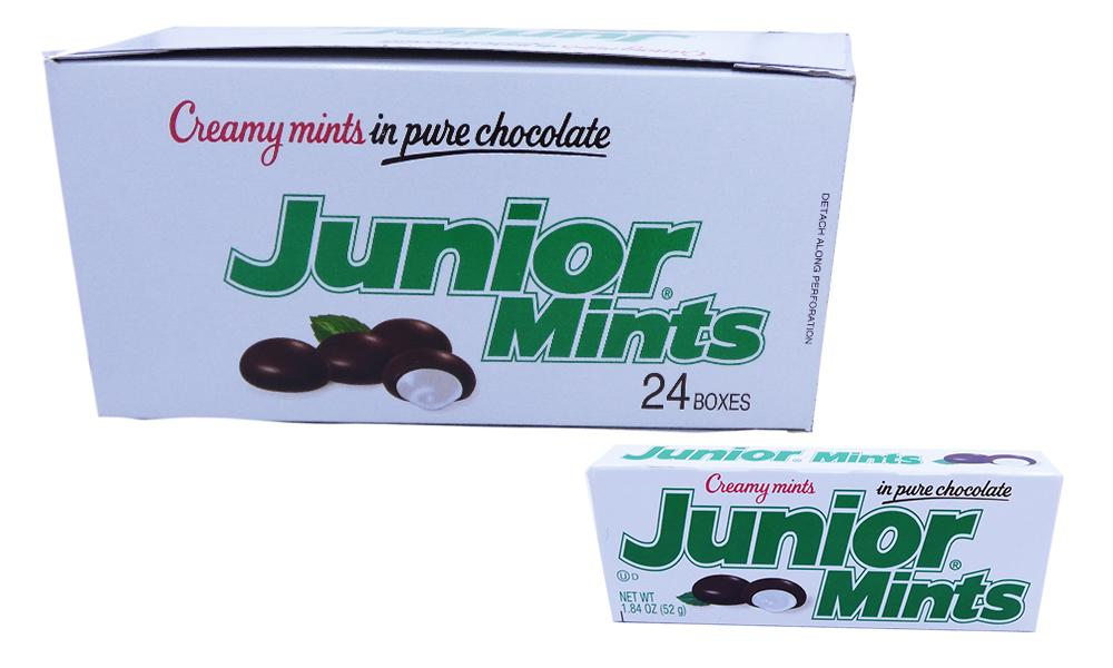 Junior Mints 1.84oz or 24 Count Box