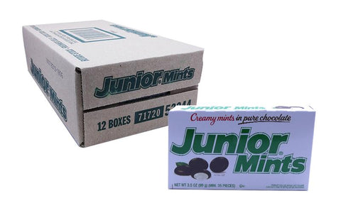 Junior Mints 3.5oz Theater Box or 12 Count Case