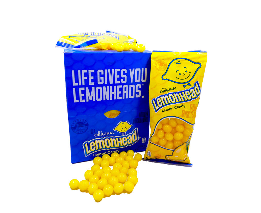 Lemonhead 3oz Bag or 8 Count Box