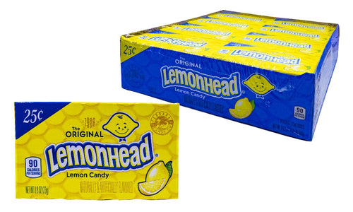 Lemonheads .8oz box 24 count pack