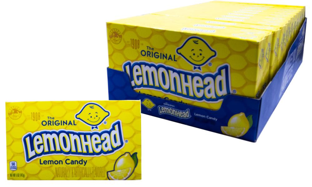 Lemonheads 5oz Theater Box or 12 Count Case