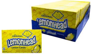 Lemonheads 5oz Theater Box 12 Count Case