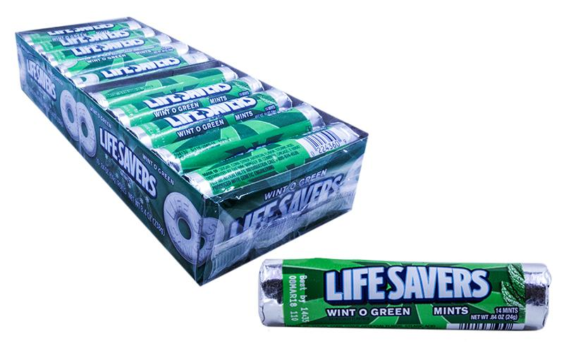 LifeSavers Roll .84oz Wint-O-Green 20 Count Box