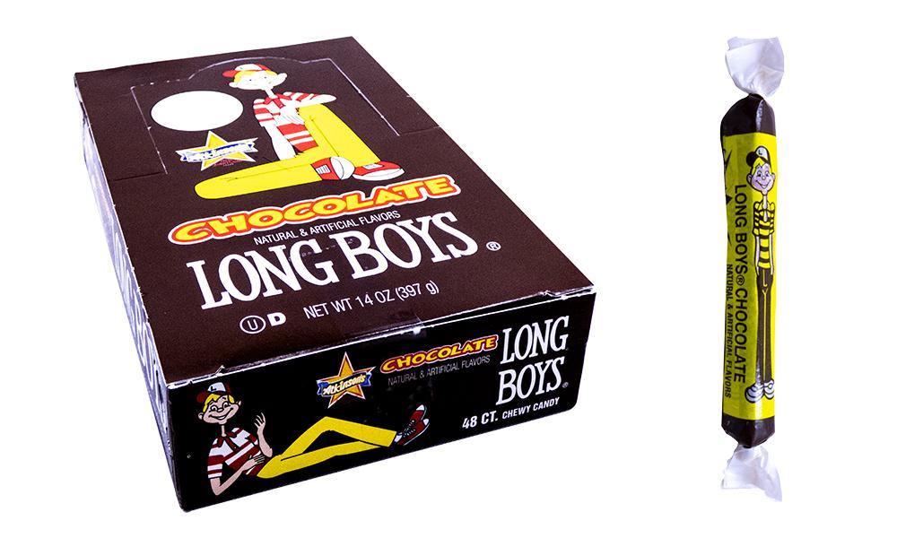 Long Boys Chocolate 9.5gr or 48 Count Box