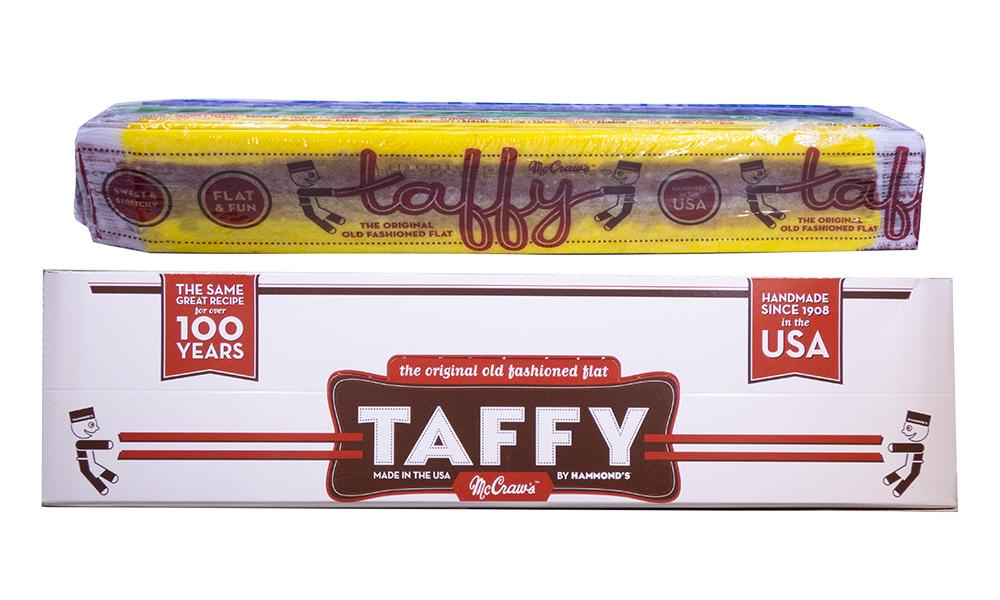 McCraws Taffy .75oz Assorted Flavors 24 Count Box