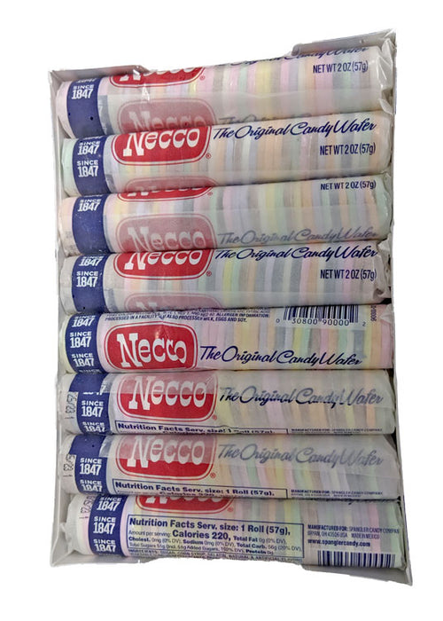 NECCO Wafers 2oz Package or 24 Count Box