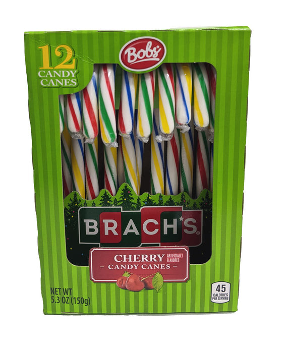 Candy Cane Brach's Cherry Rainbow 5.3oz