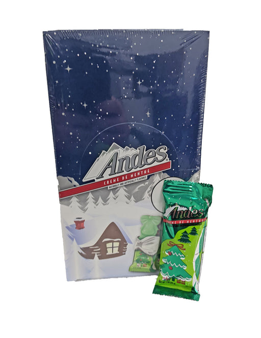 Andes Christmas Trees Creme de Menthe