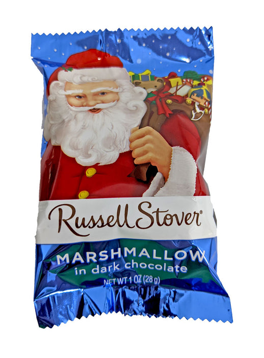 Russell Stover Marshmallow Santa Dark Chocolate 1oz