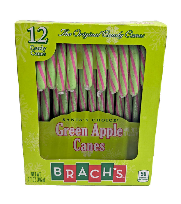 Brach's Green Apple Candy Canes