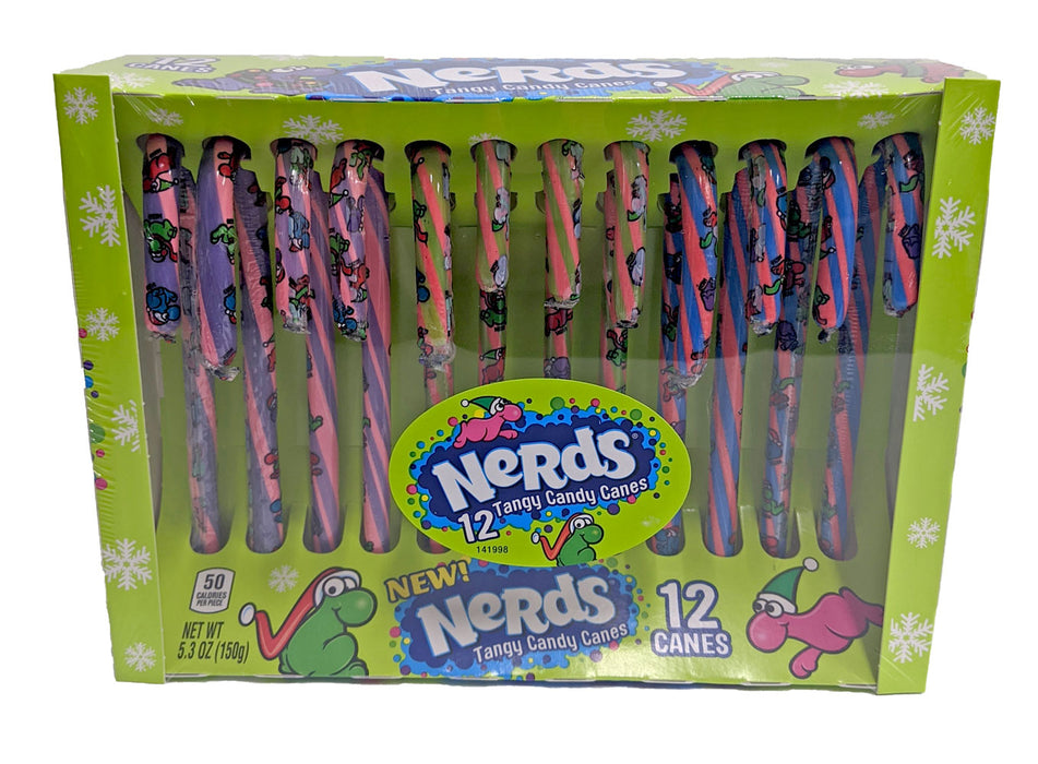 Nerds Candy Canes