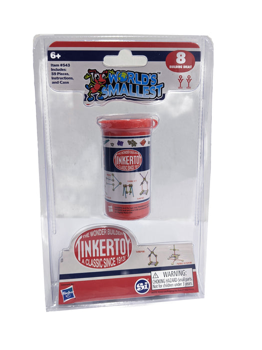 Tinker Toy World's Smallest