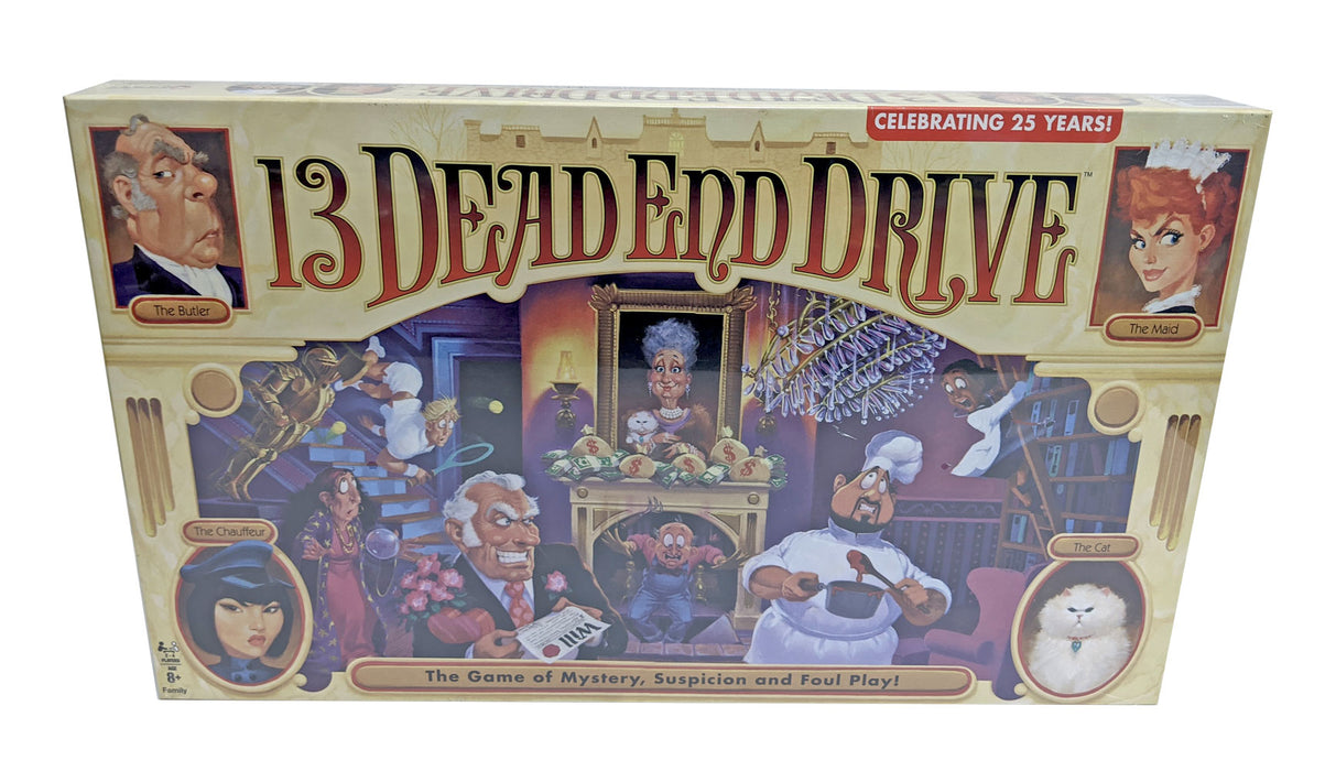 13 dead end drive board game