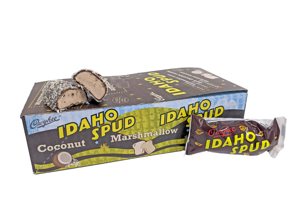 Idaho Spud 1.5oz Candy Bar or 18 Count