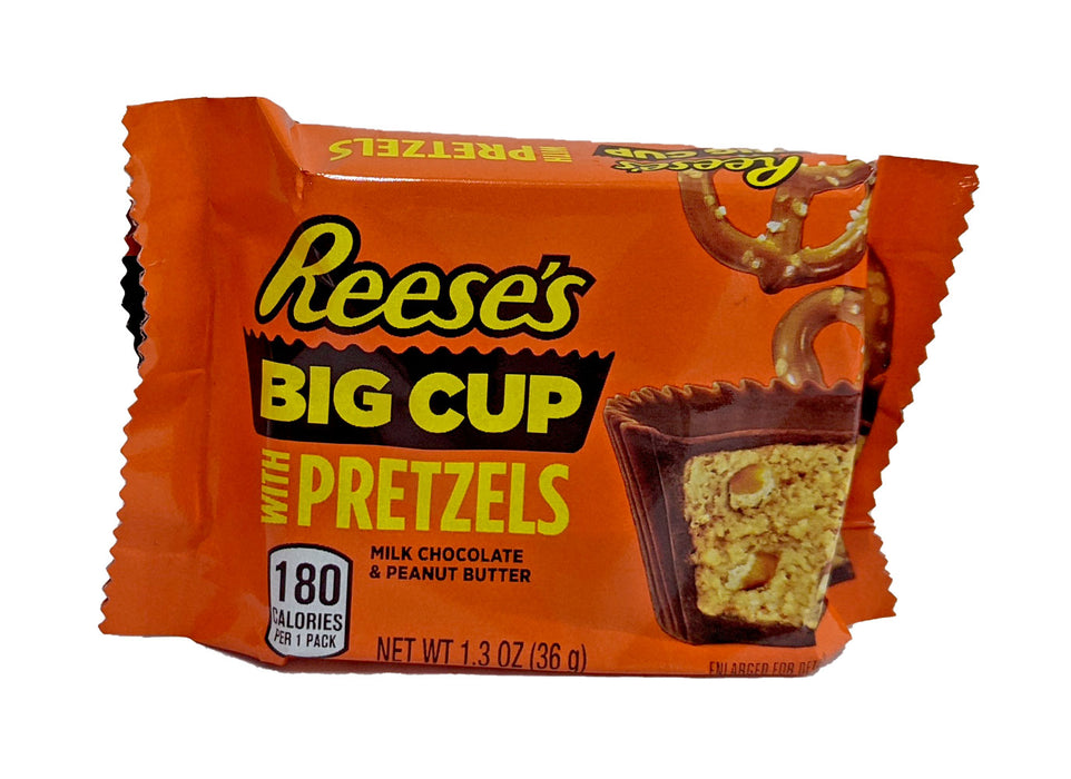 Big cup with Pretzels
