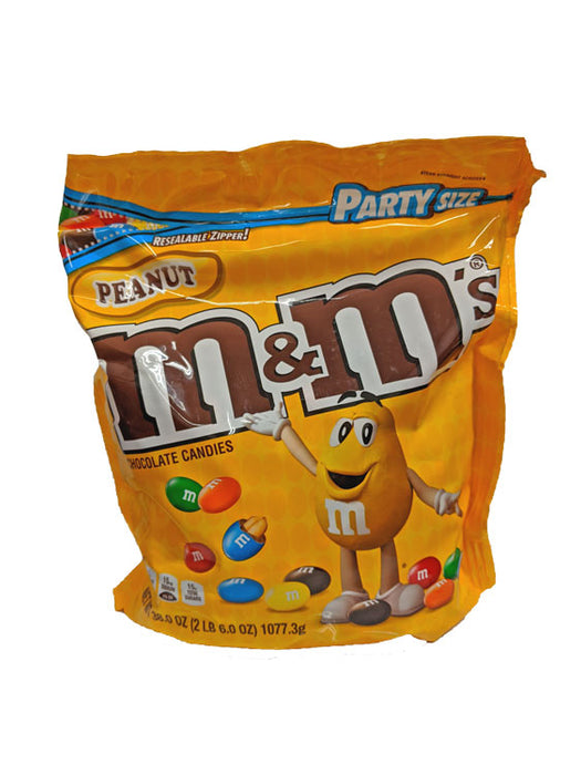 M & M Peanut Party Size 38oz Bag