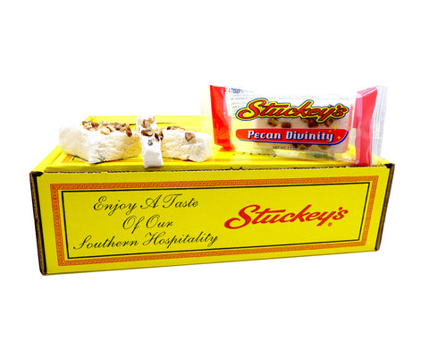 Stuckey's Pecan Divinity 1.7oz Bar or 24 Count Box