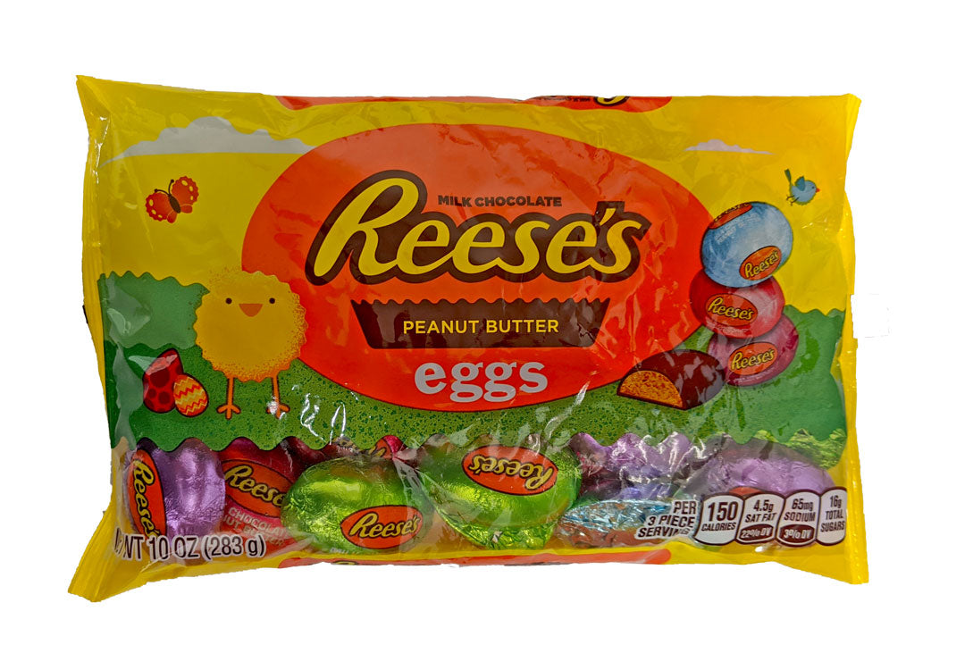 Easter Reese's Peanut Butter Eggs Miniature 10oz Pastel