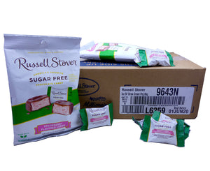 Russell Stover Sugar Free Strawberry Cream 3oz Bag or 12 Count Box