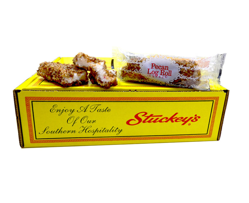 Stuckey's Pecan Log Roll 2oz Bar or 24 Count Box