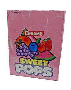 Charms .625oz Sweet Pops 48 Count Box
