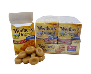 Werther's Original Sugar Free 1.48 oz Flip Top Box or 12 Count Box