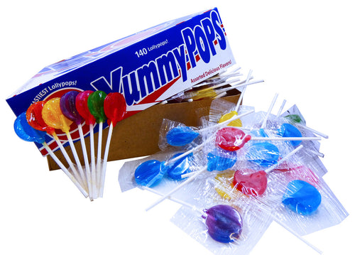 Yummy Pops 140 Count Box