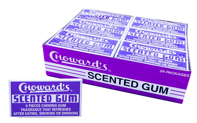 C.Howards Scented Gum 24.8gr or 24 Count Box