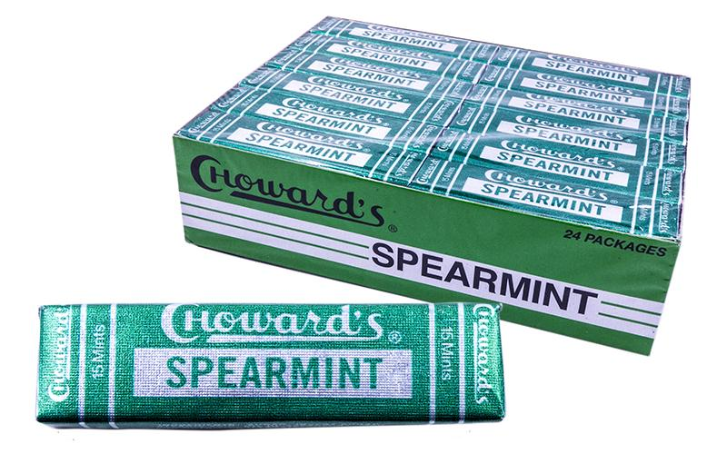 C.Howards 24.8gr Spearmint Mint 24 Count Box