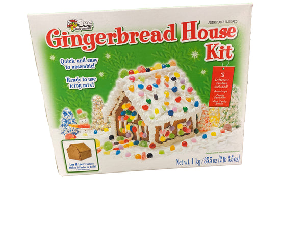 Gingerbread Houses Assorted Brands. Various Prices and Sizes