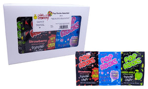 Pop Rocks .33oz Assorted 24 Count Box