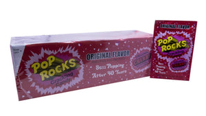 Pop Rocks .33oz Cherry 24 Count Box
