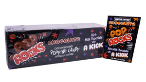 Pop Rocks .33oz Chocolate 24 Count Box