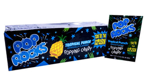 Pop Rocks Tropical Punch .33oz Pack or 24 Count Box