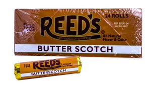 Reeds Butterscotch Roll 1.01oz 24 Count Box