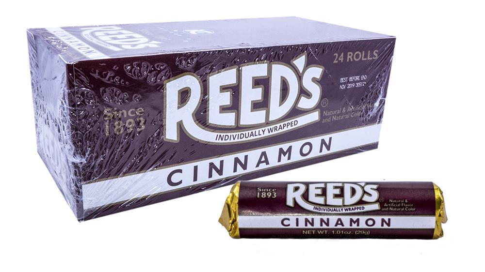 Reeds Cinnamon Roll 1.01oz 24 Count Box