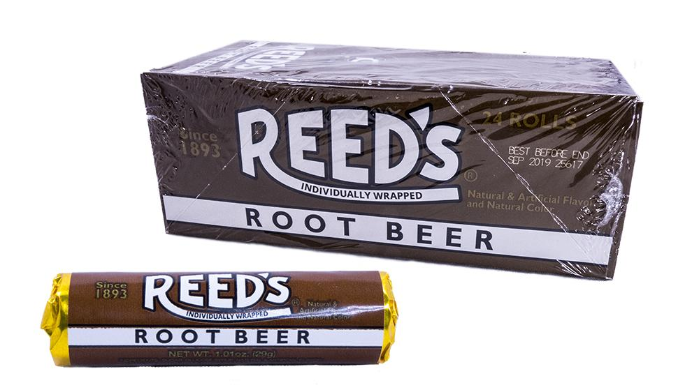 Reeds Rootbeer 1.01oz Roll or 24 Count Box