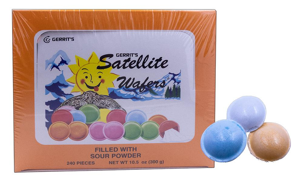 Satellite Wafers Sour 240 Count Box