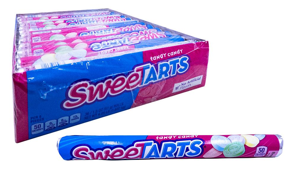 Sweetart Roll 1.8oz Roll or 36 Count Box